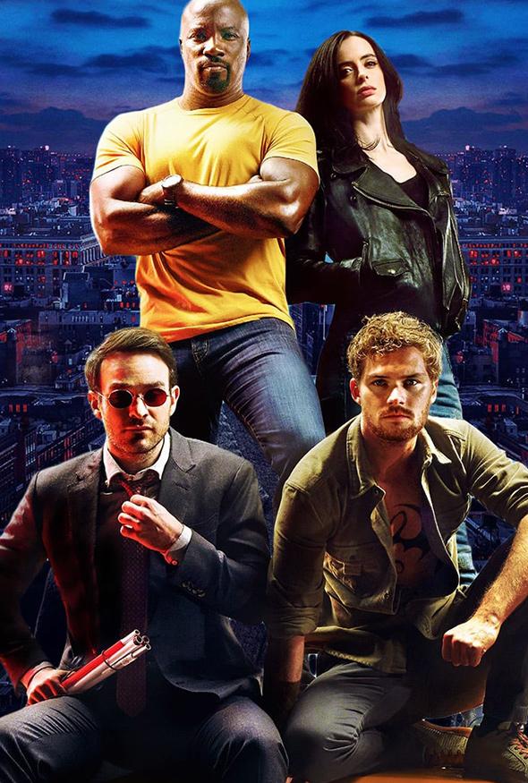 affiche Marvel / Netflix