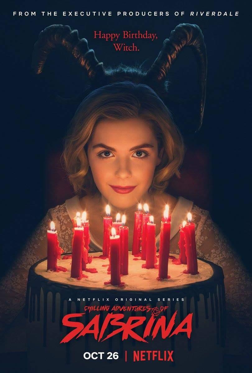 affiche Les Nouvelles Aventures de Sabrina (Chilling Adventures of Sabrina)