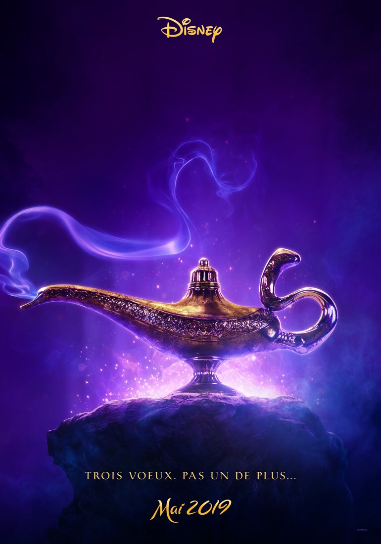 affiche Aladdin (2019)