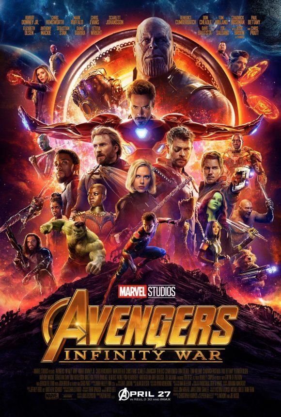 affiche Avengers 3 : Infinity War