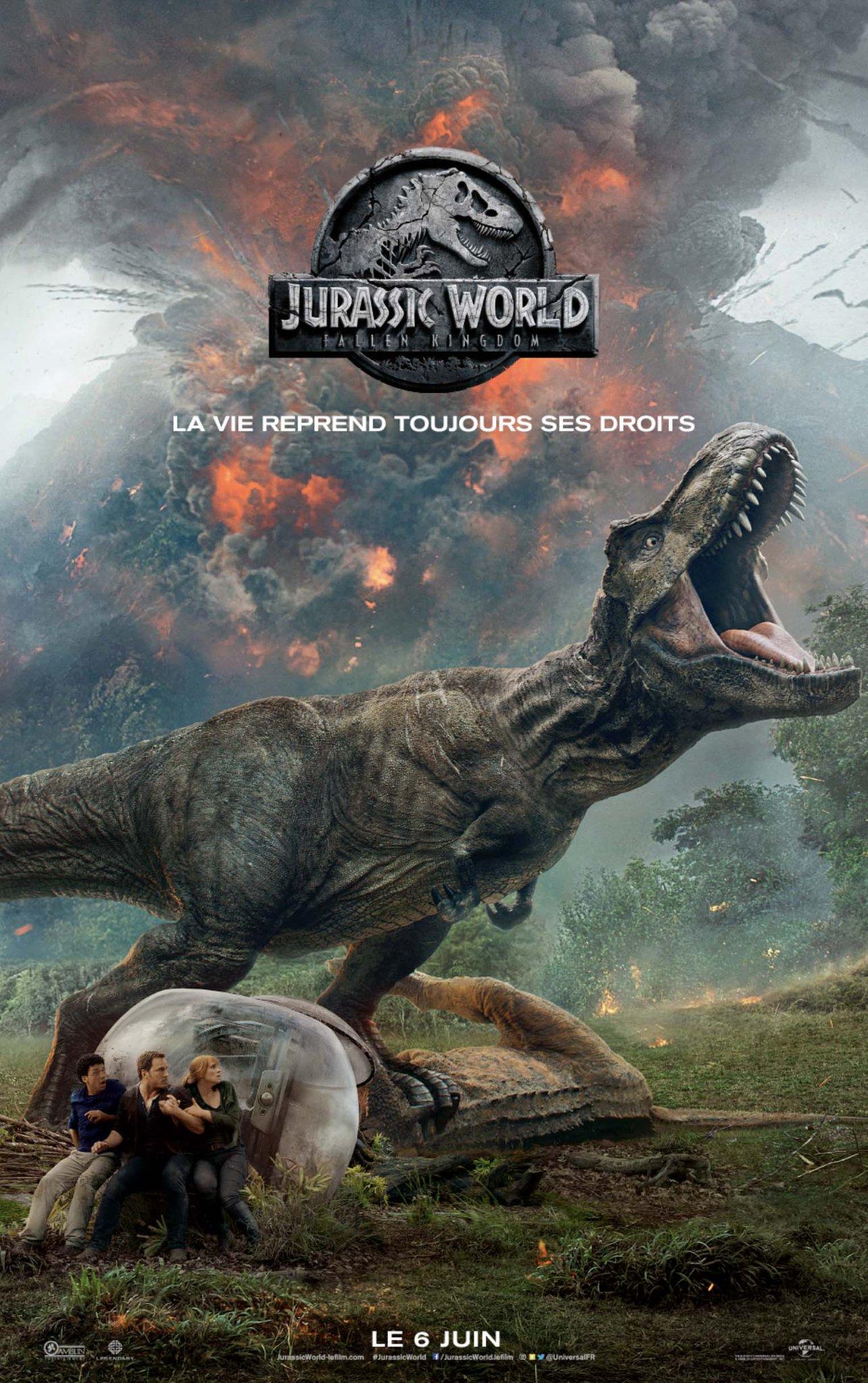 affiche Jurassic World: Fallen Kingdom