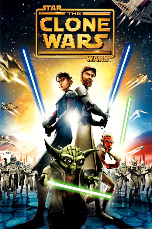 affiche Star Wars: The Clone Wars