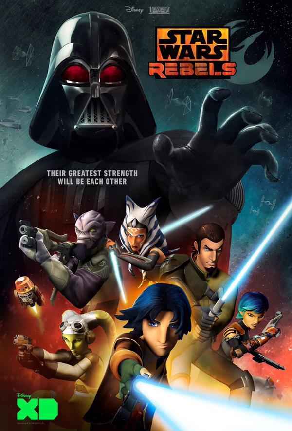 affiche Star Wars Rebels