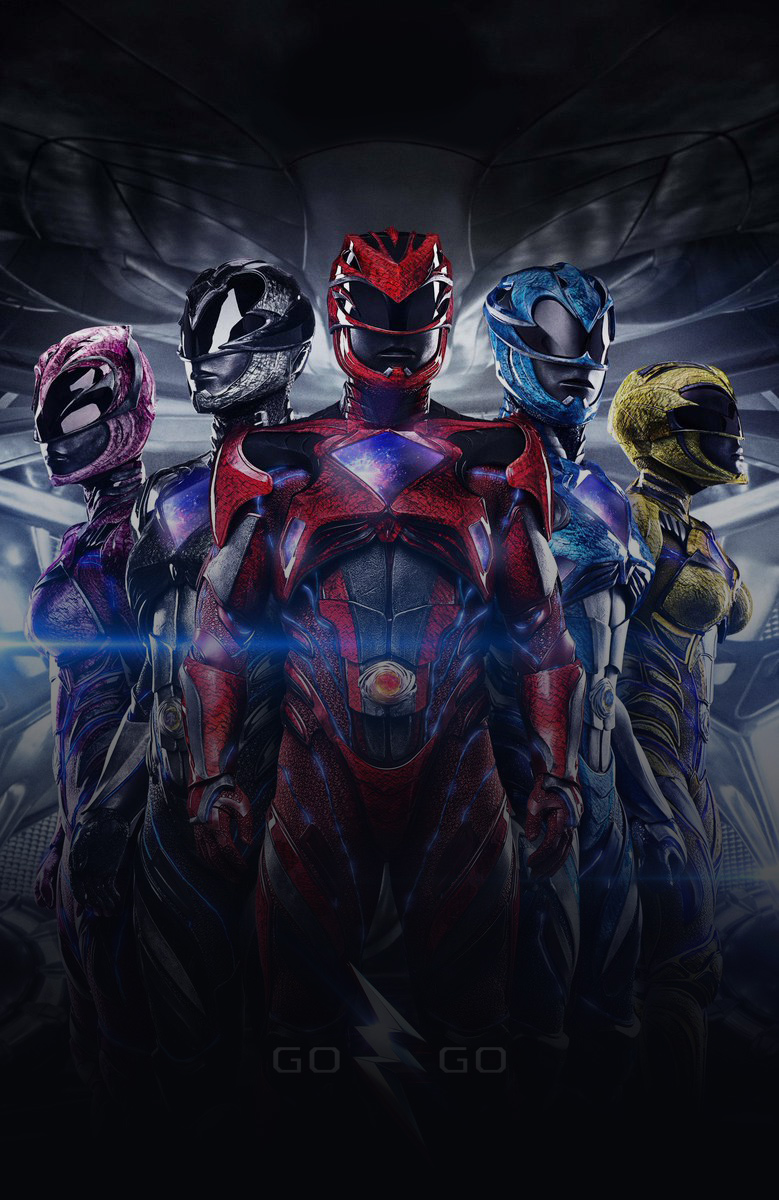 affiche Power Rangers 2