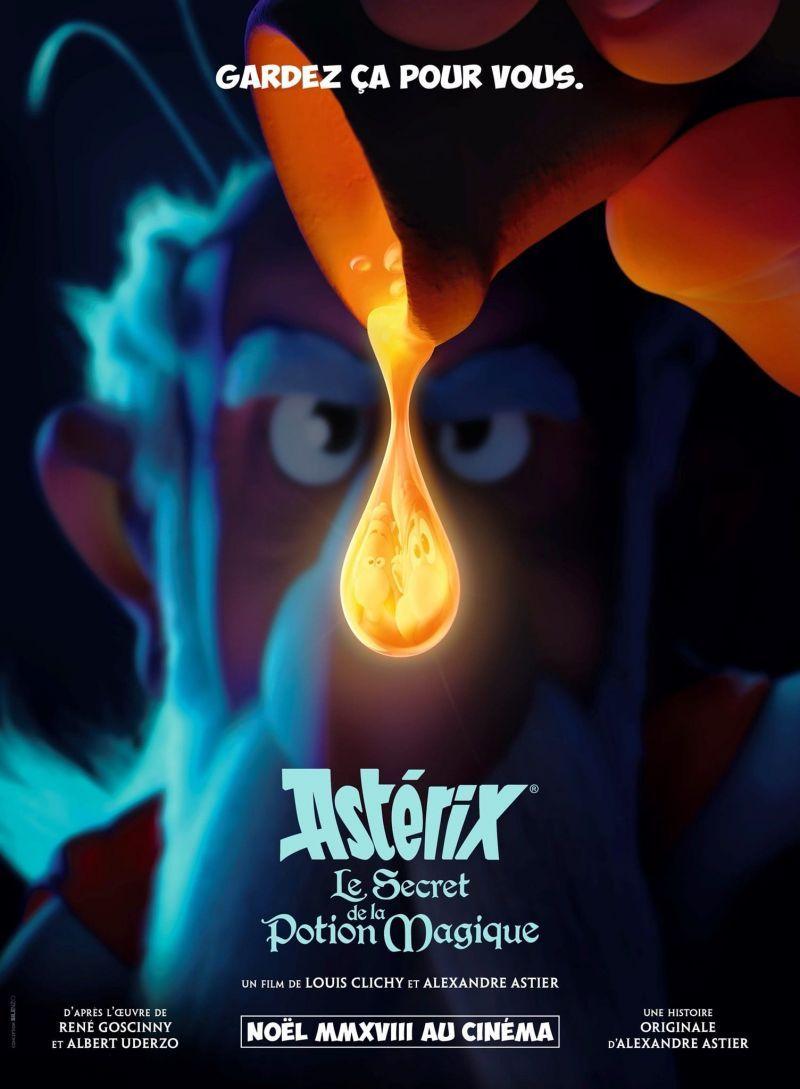 affiche Astérix et le Secret de la Potion Magique