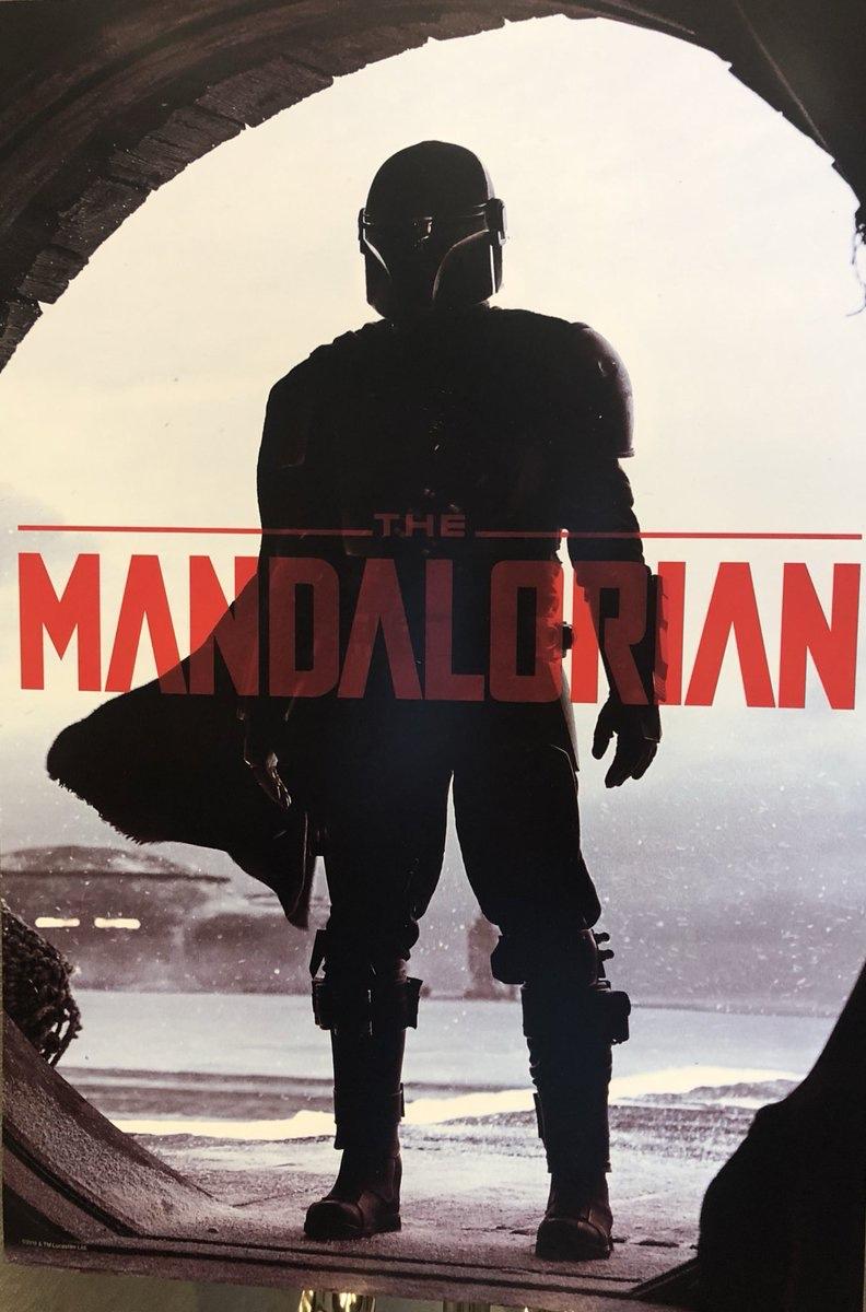 affiche Star Wars: The Mandalorian