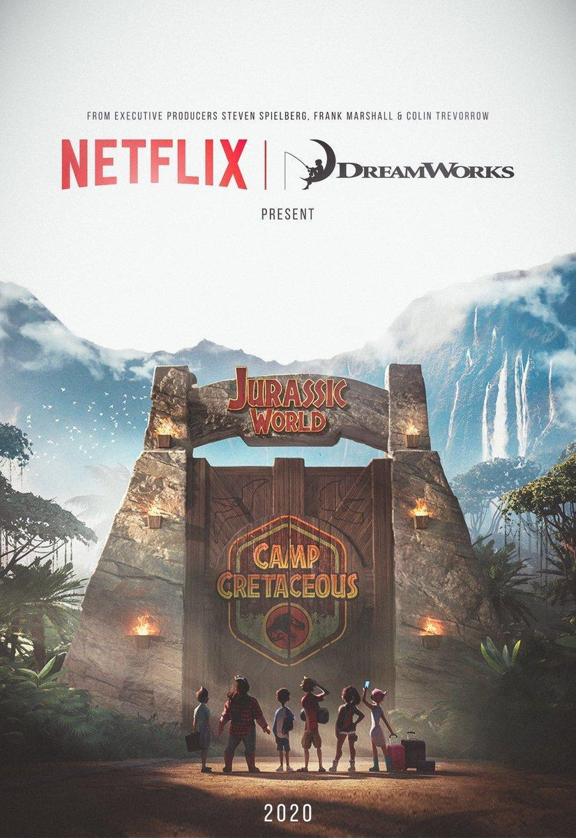 affiche Jurassic World: Camp Cretaceous