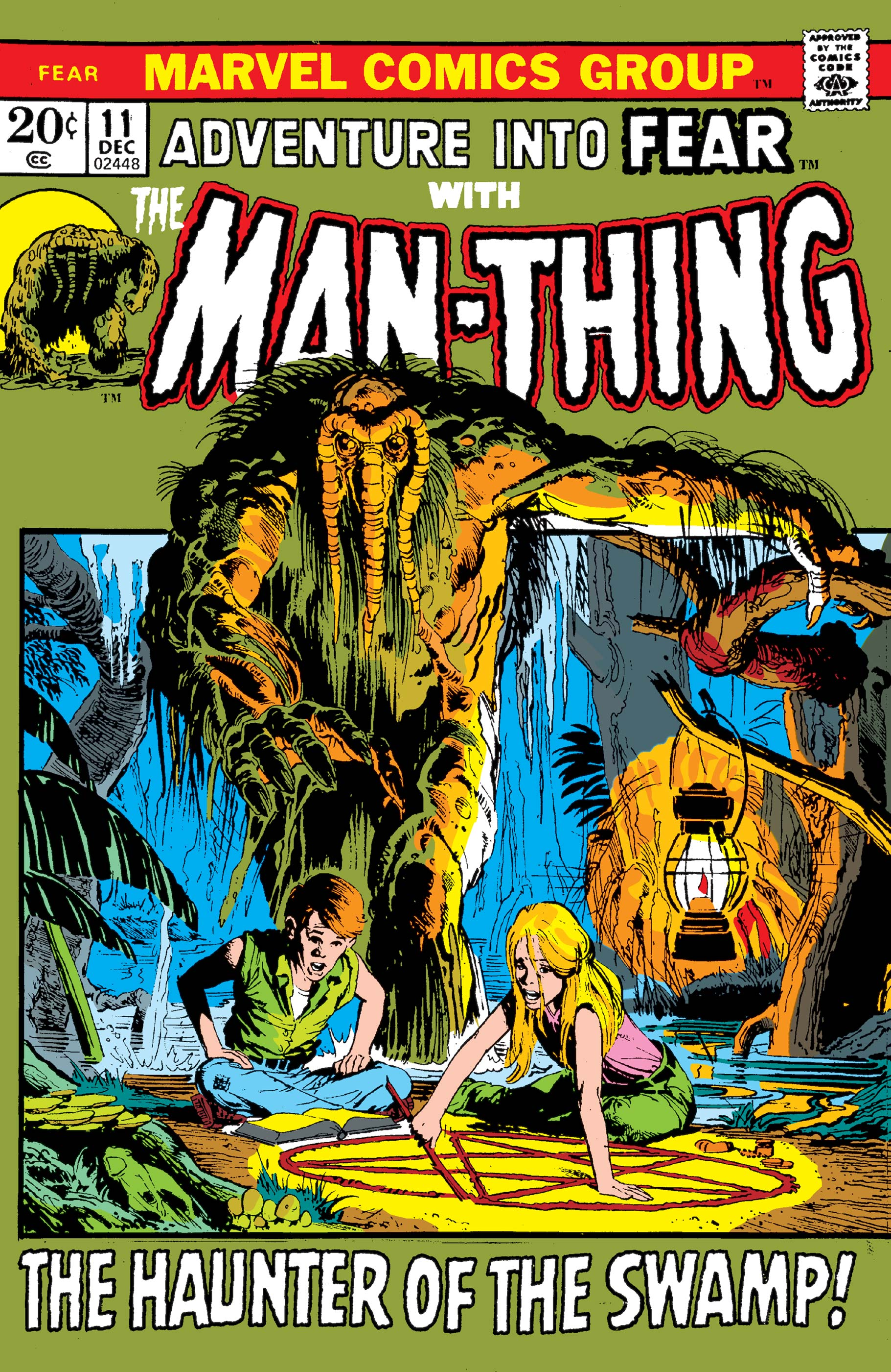 Adventures into Fear : Man-Thing