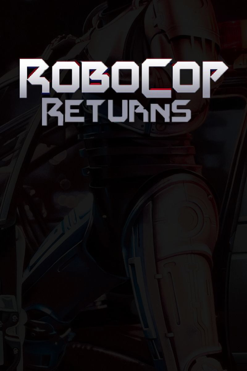 affiche RoboCop Returns