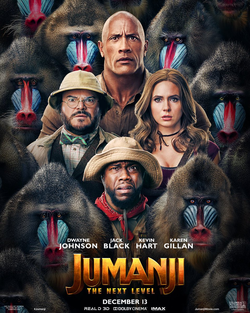 affiche Jumanji: Next Level