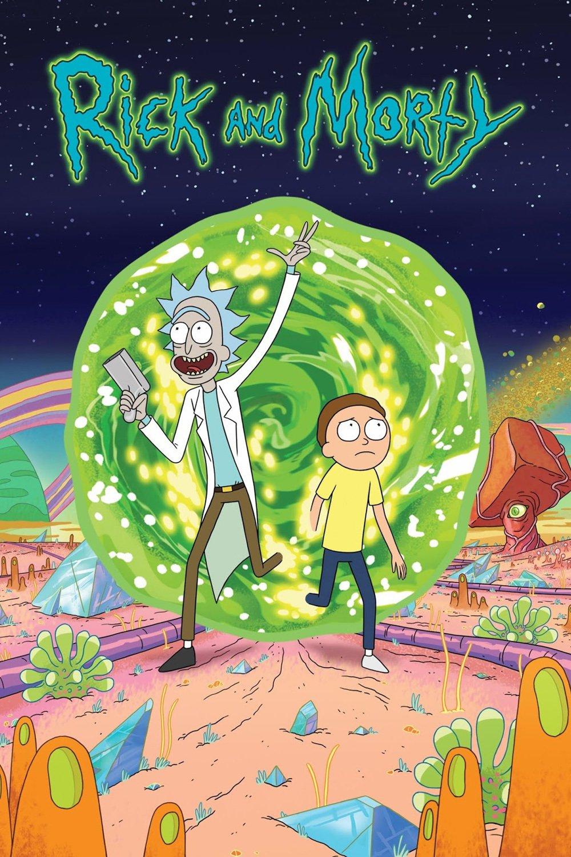 affiche Rick & Morty