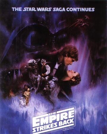 affiche Star Wars V : L'Empire Contre-Attaque