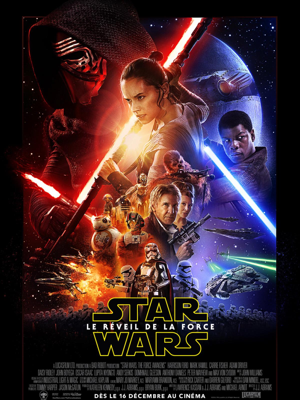 affiche Star Wars VII : Le Réveil de la Force