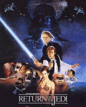 affiche Star Wars VI : Le Retour du Jedi