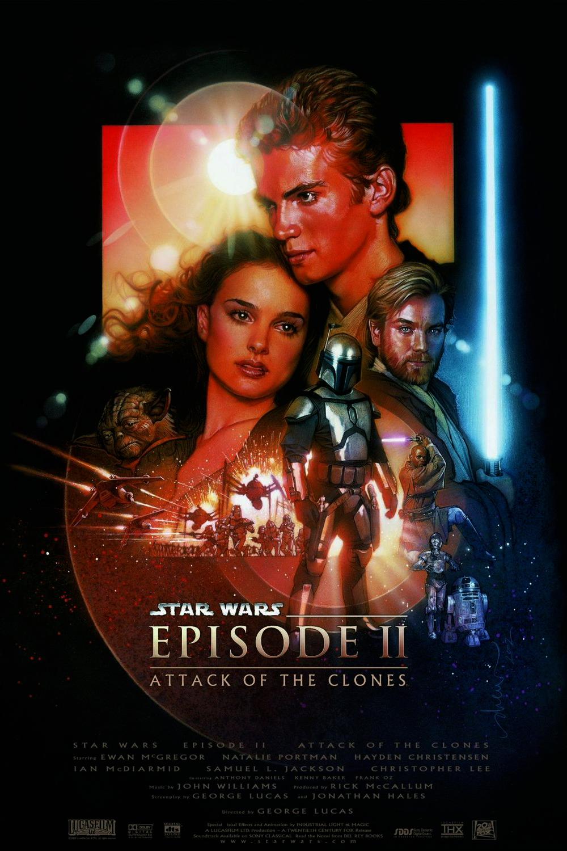 affiche Star Wars II : L'Attaque des Clones