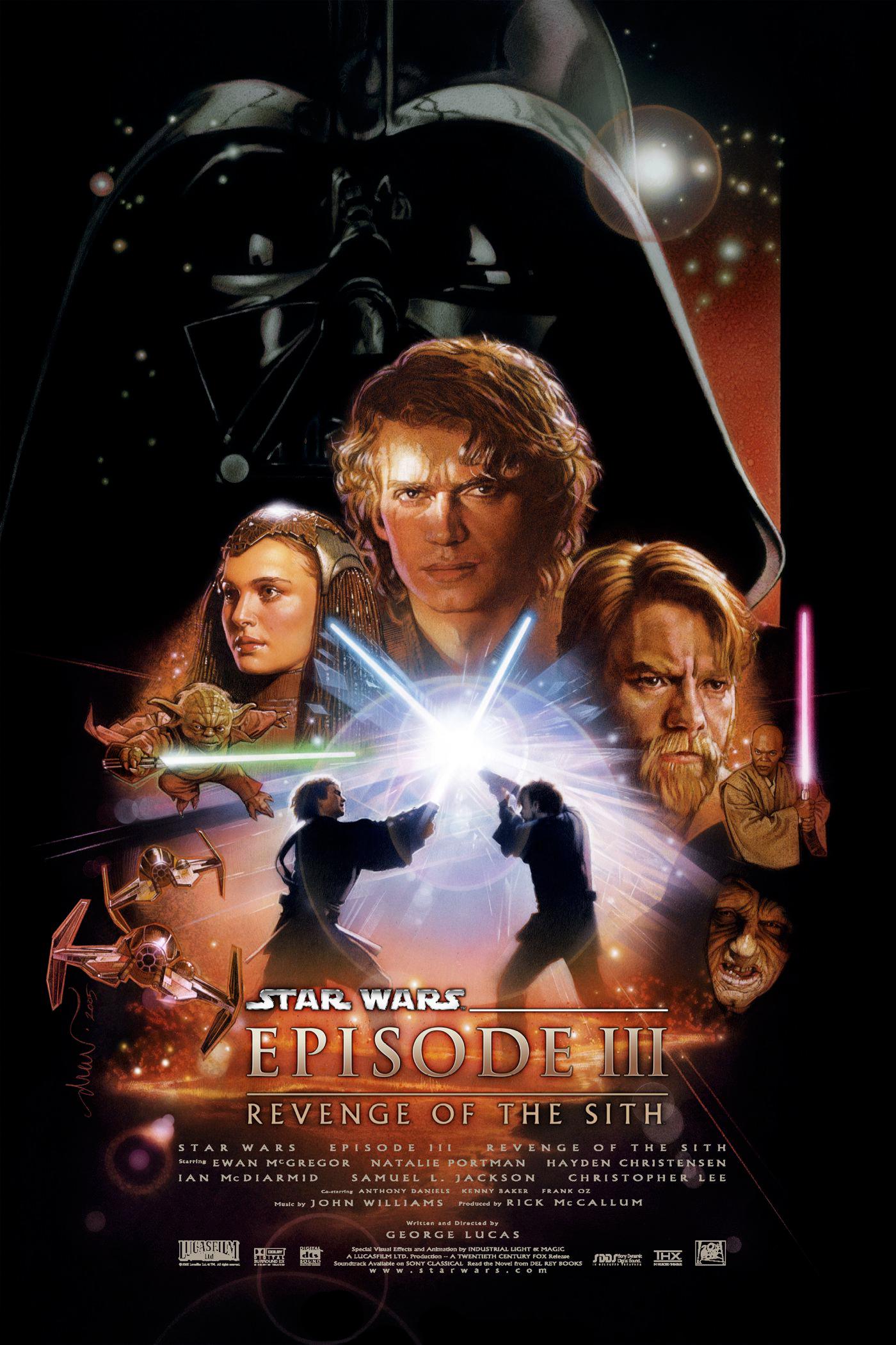 affiche Star Wars III : La Revanche des Sith