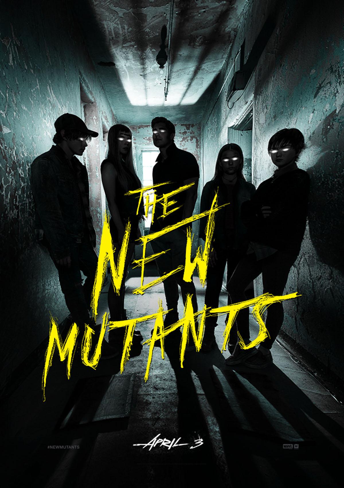 affiche Les Nouveaux Mutants