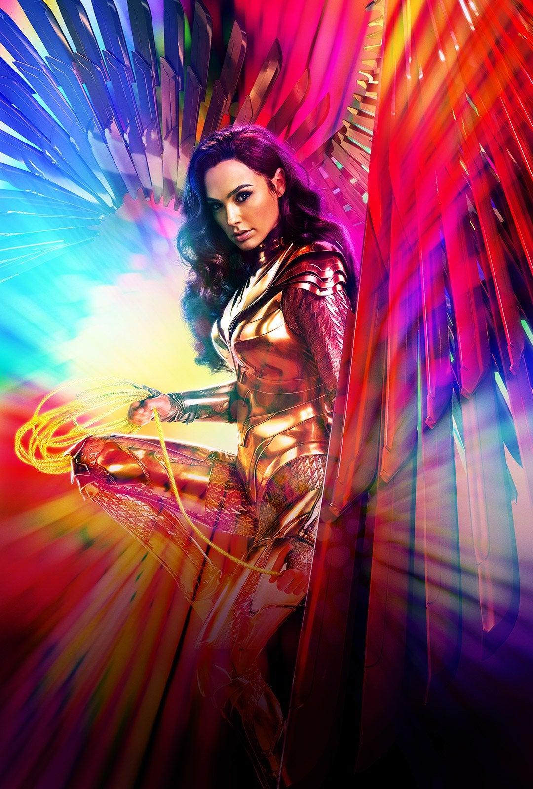 affiche Wonder Woman 1984