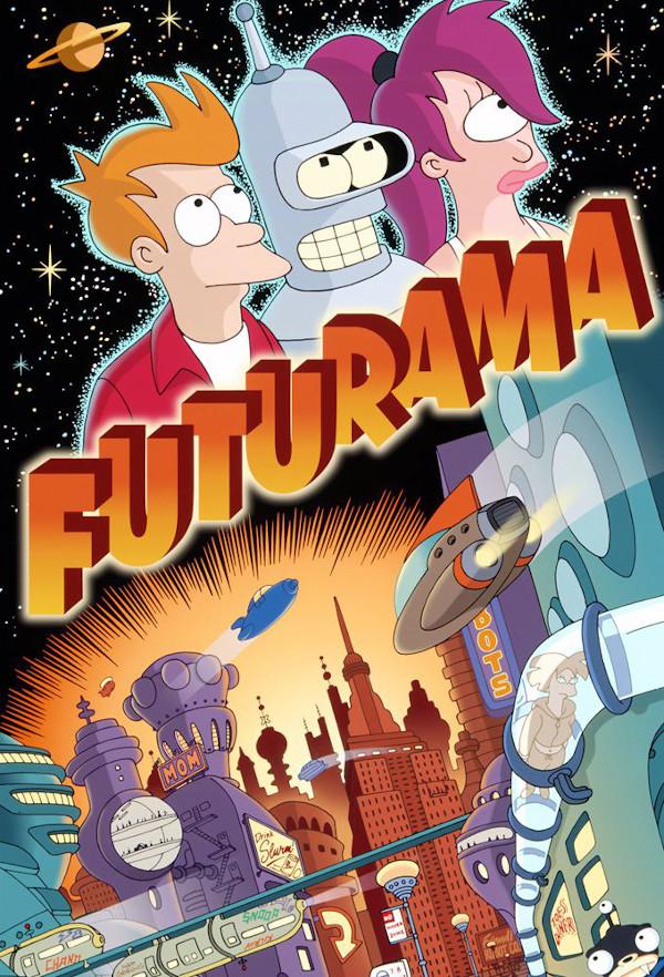 affiche Futurama