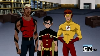 Young Justice S01E01